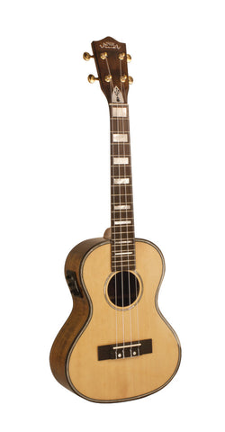Lanikai Ukulele LKS TEU Tenor Solid Spruce USB Equipped - L.A. Music - Canada's Favourite Music Store!