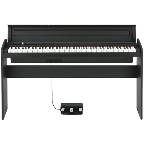Korg 88-Key NH Action Digital Piano Black Cabinet LP180-BK - L.A. Music - Canada's Favourite Music Store!