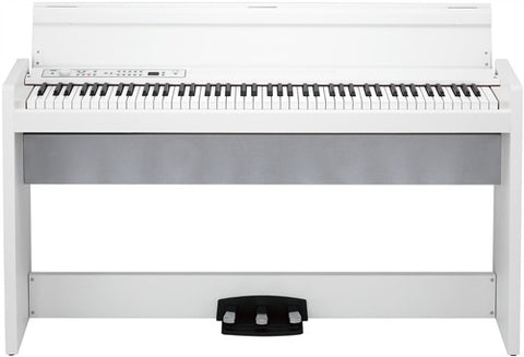 Korg 88-Key RH3 Action Digital Piano White Cabinet LP380-WH