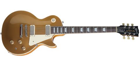 Gibson 2015 Les Paul Deluxe Metallic Goldtop Electric Guitar - L.A. Music - Canada's Favourite Music Store!