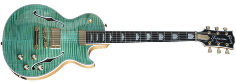 Gibson 2015 Les Paul Supreme Seafoam Green Electric Guitar - L.A. Music - Canada's Favourite Music Store!