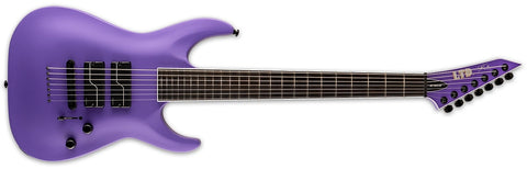ESP LTD SC-607 Baritone Electric Guitar STEPHEN CARPENTER Purple Satin LSC607BPS
