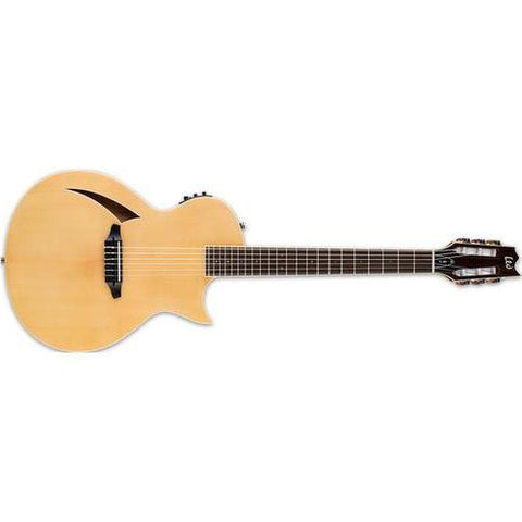 ESP LTD Thinline Series TL-6N Nylon-String Acoustic/Electric Guitar (Natural Gloss) Item ID: LTL6NNAT