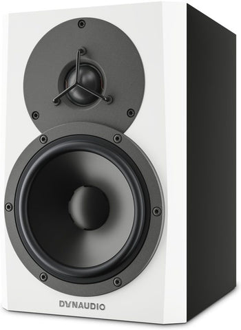 Dynaudio 5'' Powered Reference Monitor, each White - L.A. Music - Canada's Favourite Music Store!