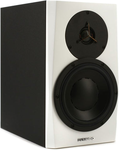 Dynaudio 7'' Powered Reference Monitor, Each White - L.A. Music - Canada's Favourite Music Store!