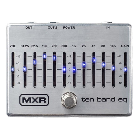 MXR M108S 10 Band EQ Pedal - L.A. Music - Canada's Favourite Music Store!