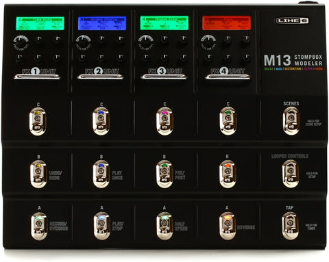 LINE 6 M13 ALL IN ONE STOMPBOX MODELER