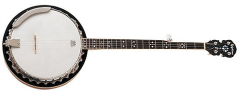 Epiphone 5 String Banjo Red Brown Mahogany MB-200MRCH - L.A. Music - Canada's Favourite Music Store!