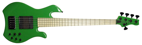 Mark Bass Kimandu 5-string Electric Bass Solid Green Gloss MB-KIMANDU-5