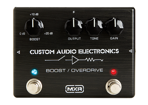 Dunlop MXR Custom Audio Electronics MC-402 Boost/Overdrive Pedal - L.A. Music - Canada's Favourite Music Store!