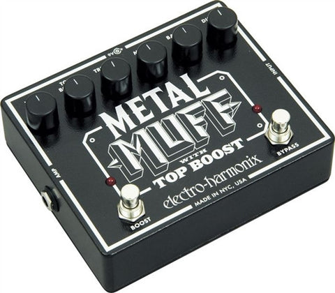 Electro-Harmonix XO Metal Muff with Top Boost Distortion Guitar Effects Pedal - L.A. Music - Canada's Favourite Music Store!