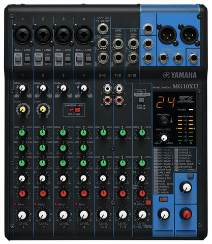 Yamaha MG10XU 7-channel Compact Mixer
