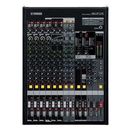 Yamaha MGP12X 12-Channel Premium Mixing Console OPEN BOX