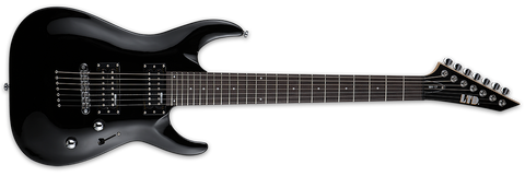 ESP LTD MH-17 MH17 7 STRING ELECTRIC IN BLACK