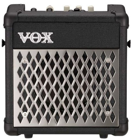 Vox MINI5-RHYTHM 5w Busking Amp, 1x6.5 speaker with rhythms, Black