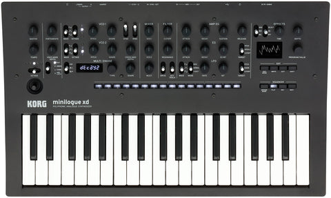Korg Mini Analog Synth With Prologue Monologue Added Features MINILOGUEXD 2019