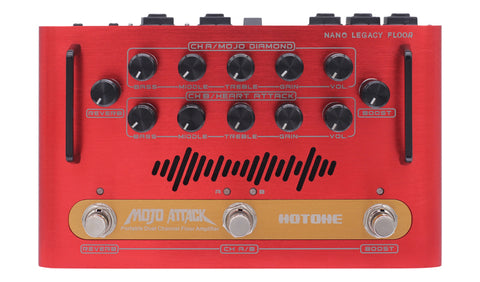 Hotone Mojo Attack Portable Dual Channel Floor Amplifier