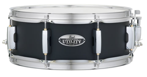 Pearl MUS1350M 13 X 5 MODERN UTILITY SNARE DRUM Satin Black - L.A. Music - Canada's Favourite Music Store!