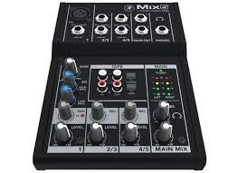 Mackie MIX5 5-Channel Ultra Compact Mixer - 1 XLR In
