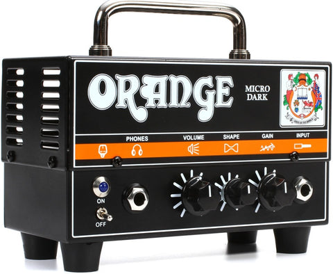 Orange MD20 Micro Dark - 20 Watt Mini Hybrid Guitar Head - L.A. Music - Canada's Favourite Music Store!