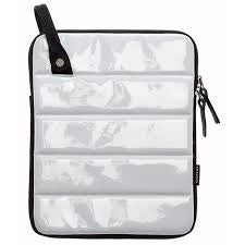 Mono CVL LPD WHT Loop iPad Sleeve in Gloss White - L.A. Music - Canada's Favourite Music Store!