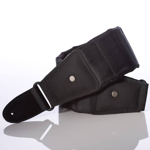 Mono M80 BTY BLK L Long Betty Guitar Strap in Black  Length: 47 59 Inches