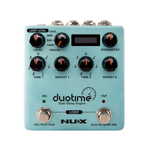 NUX Duotime Dual Delay Pedal NDD-6