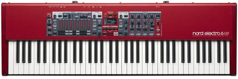 Nord Electro 6 HP 73 key piano action Lightweight Hammer Piano