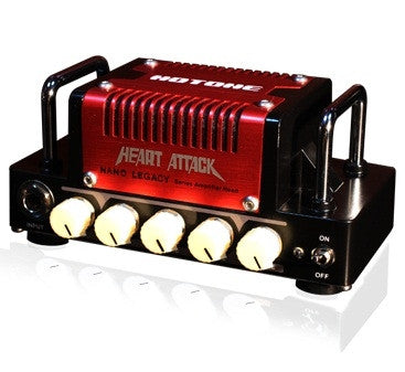 Hotone Heart Attack 5W Mini Amplifier, based on Mesa Boogie Rectifier (with 18V power supply) NLA3
