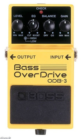 Boss ODB 3 Bass Overdrive - L.A. Music - Canada's Favourite Music Store!