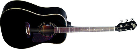 Oscar Schmidt OG2B Dreadnought Black Gloss