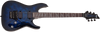Schecter Omen Elite 6 Floyd Rose Electric Guitar See-Thru Blue Burst 2455-SHC