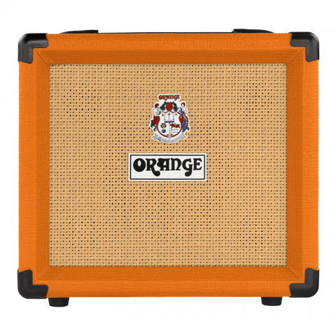 "Orange CRUSH12 Single channel solid state Crush 1x6"" combo with CabSim headphone out, 12 Watts"