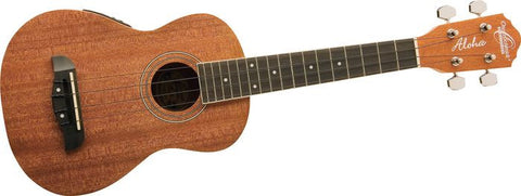 Oscar Schmidt Folk OU2E Mahogany Concert Ukelele With Active Pickup - L.A. Music - Canada's Favourite Music Store!
