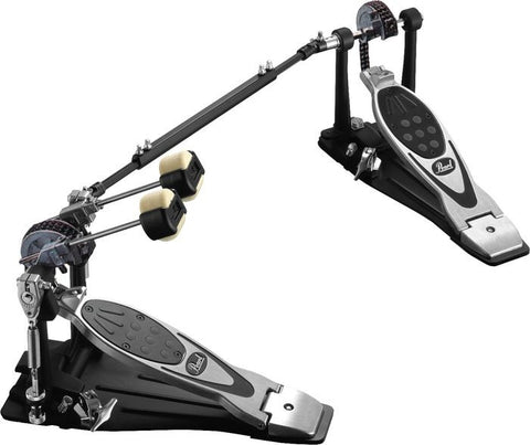 Pearl P 2002C Eliminator Twin Pedal, Chain Drive, w case - L.A. Music - Canada's Favourite Music Store!