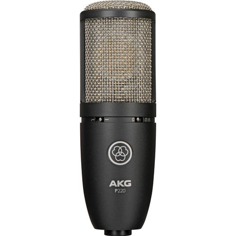 AKG Project Studio Large Diaphragm Condenser Microphone Item ID: P220-MIC