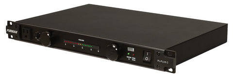 Furman PL-Plus C Power Conditioner with Voltmeter - L.A. Music - Canada's Favourite Music Store!