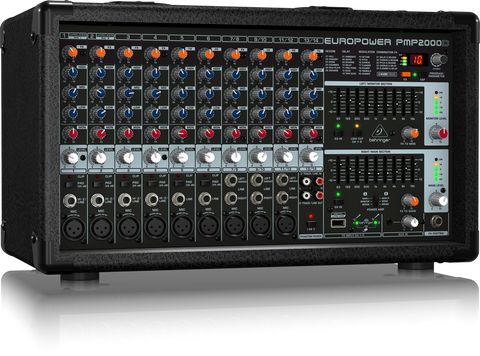 Behringer Europower PMP2000D 2000-Watt 14-Channel Powered Mixer