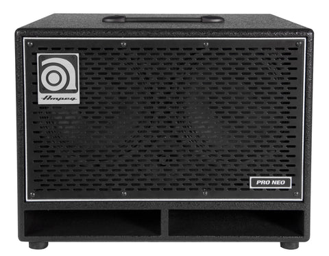 Ampeg PN210HLF Designed and Assembled in USA 210'' Speaker Cabinet Neodymium Loaded 550W RMS