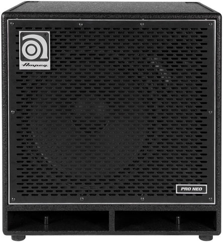 Ampeg PN115HLF Designed and Assembled in USA 115'' Speaker Cabinet Neodymium Loaded 575W RMS - L.A. Music - Canada's Favourite Music Store!