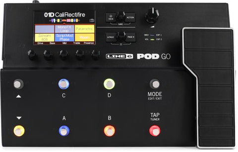 Line 6 Pod Go Multi Effects Floor Processor