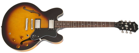 Epiphone ES335 Dot Semi Hollowbody Electric Guitar Vintage Sunburst EDOTVSCH - L.A. Music - Canada's Favourite Music Store!