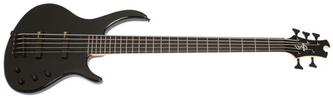 Epiphone Toby Deluxe V 5 String Bass Ebony TBD5EBBH - L.A. Music - Canada's Favourite Music Store!