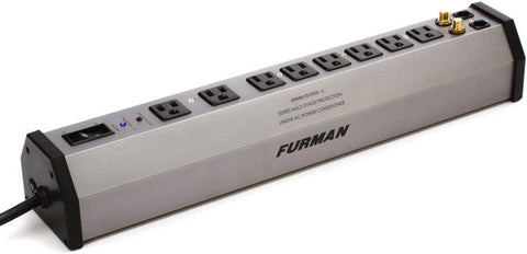 Furman 8-OUTLET POWER CENTER ALUM - L.A. Music - Canada's Favourite Music Store!