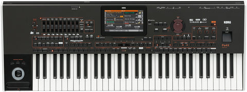 Korg PA4XOR-61 61-key RX Arranger with touch screen - L.A. Music - Canada's Favourite Music Store!