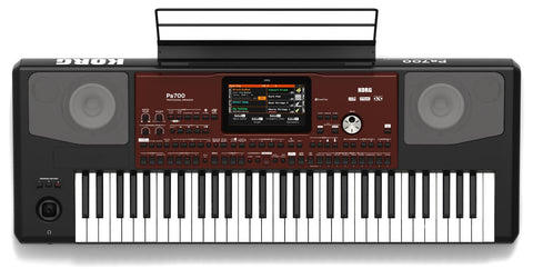Korg PA700 61 Key Arranger w/ Colour Touchview, Speakers, USB