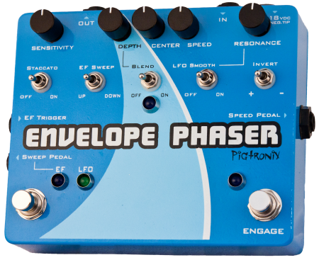 Pigtronix Envelope Phaser Envelope & Rotary Phaser - L.A. Music - Canada's Favourite Music Store!