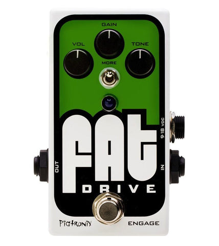 Pigtronix FAT Drive Tube Sound Overdrive - L.A. Music - Canada's Favourite Music Store!