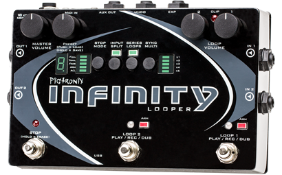 Pigtronix Infinity Looper Stereo Performance Looper - L.A. Music - Canada's Favourite Music Store!