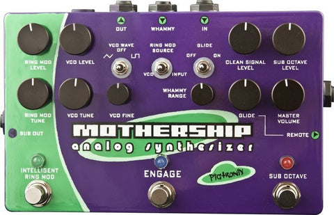 Pigtronix Mothership Analog Guitar Synthesizer - L.A. Music - Canada's Favourite Music Store!